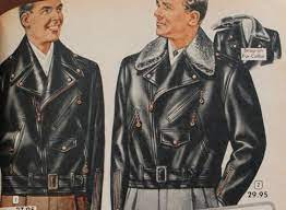 1950s Men's Leather Sweaters