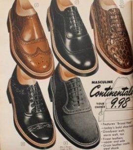 1950s Men's Vintage Shoes