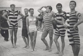 1920s Men Swimsuit