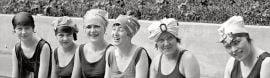 1920s Swim Caps