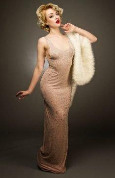 Marilyn Monroe Birthday Dress