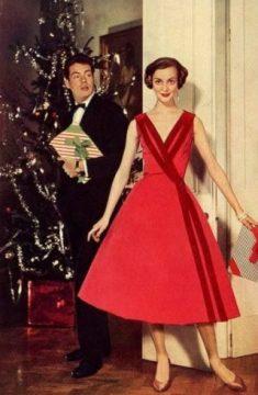 1950s Christmas Fashion