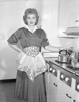 Lucille Ball Housewife Dress